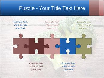 Fresh broccoli PowerPoint Template - Slide 41
