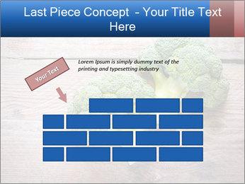 Fresh broccoli PowerPoint Template - Slide 46
