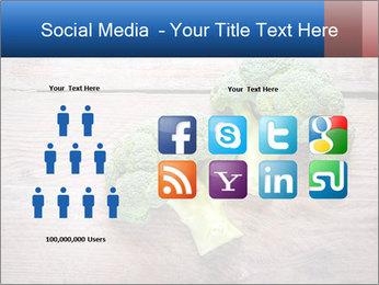Fresh broccoli PowerPoint Template - Slide 5