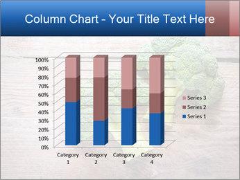 Fresh broccoli PowerPoint Template - Slide 50