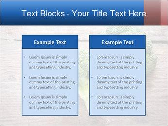 Fresh broccoli PowerPoint Template - Slide 57