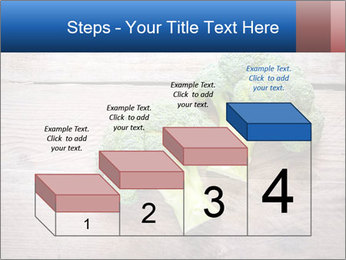 Fresh broccoli PowerPoint Template - Slide 64