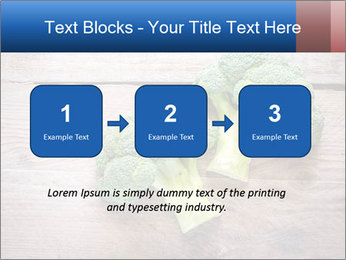 Fresh broccoli PowerPoint Template - Slide 71
