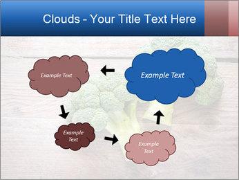 Fresh broccoli PowerPoint Template - Slide 72