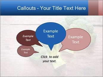 Fresh broccoli PowerPoint Template - Slide 73