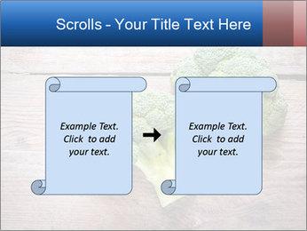 Fresh broccoli PowerPoint Template - Slide 74