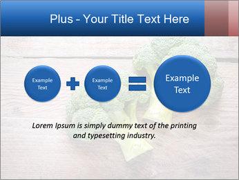Fresh broccoli PowerPoint Template - Slide 75