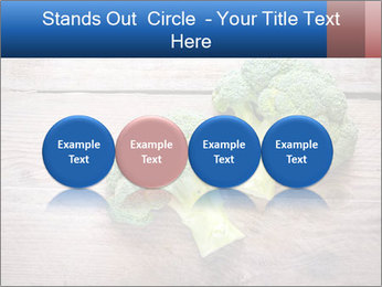 Fresh broccoli PowerPoint Template - Slide 76