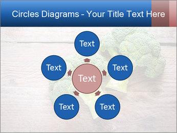Fresh broccoli PowerPoint Template - Slide 78