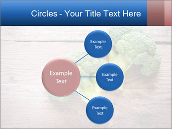 Fresh broccoli PowerPoint Template - Slide 79