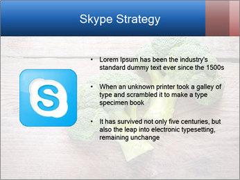 Fresh broccoli PowerPoint Template - Slide 8