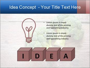 Fresh broccoli PowerPoint Template - Slide 80