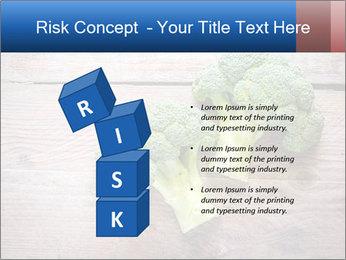 Fresh broccoli PowerPoint Template - Slide 81