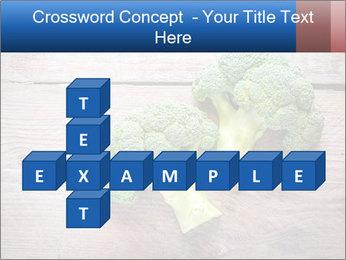 Fresh broccoli PowerPoint Template - Slide 82