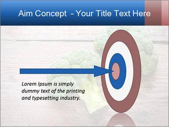 Fresh broccoli PowerPoint Template - Slide 83