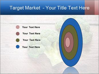 Fresh broccoli PowerPoint Template - Slide 84