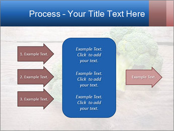 Fresh broccoli PowerPoint Template - Slide 85