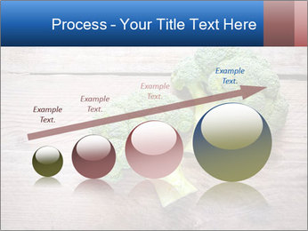 Fresh broccoli PowerPoint Template - Slide 87