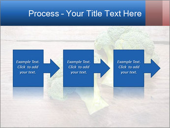 Fresh broccoli PowerPoint Template - Slide 88