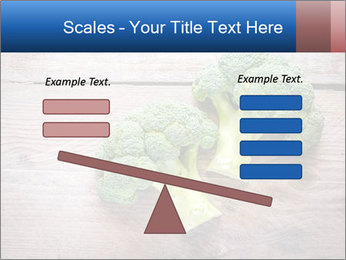 Fresh broccoli PowerPoint Template - Slide 89