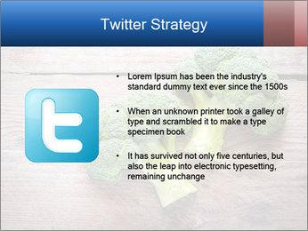Fresh broccoli PowerPoint Template - Slide 9