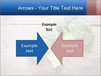 Fresh broccoli PowerPoint Template - Slide 90