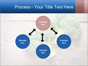 Fresh broccoli PowerPoint Template - Slide 91