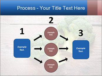 Fresh broccoli PowerPoint Template - Slide 92