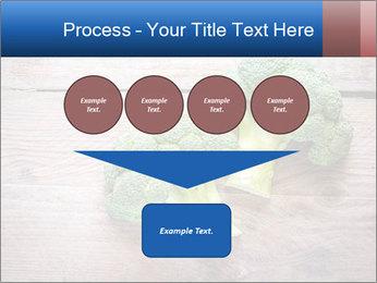 Fresh broccoli PowerPoint Template - Slide 93