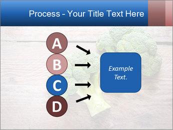 Fresh broccoli PowerPoint Template - Slide 94