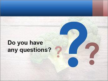 Fresh broccoli PowerPoint Template - Slide 96