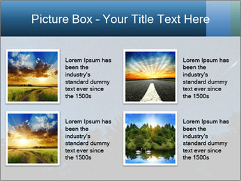 A shot of the milky way PowerPoint Template - Slide 14