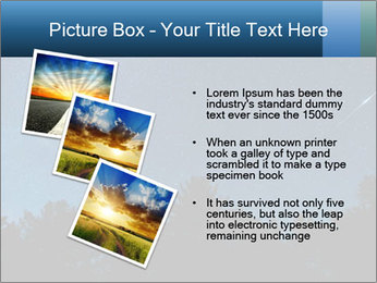 A shot of the milky way PowerPoint Template - Slide 17