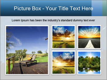 A shot of the milky way PowerPoint Template - Slide 19