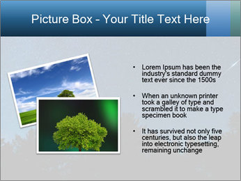 A shot of the milky way PowerPoint Template - Slide 20