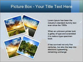 A shot of the milky way PowerPoint Template - Slide 23