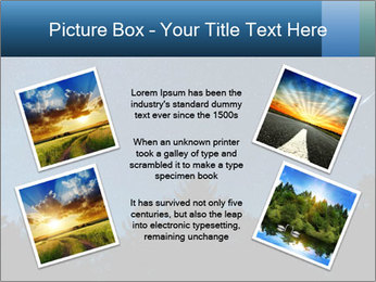 A shot of the milky way PowerPoint Template - Slide 24