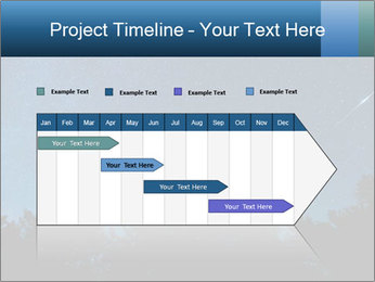 A shot of the milky way PowerPoint Template - Slide 25