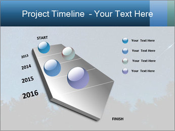 A shot of the milky way PowerPoint Template - Slide 26
