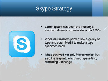 A shot of the milky way PowerPoint Template - Slide 8