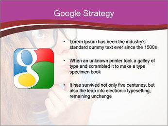 Portrait of Funny girl PowerPoint Template - Slide 10