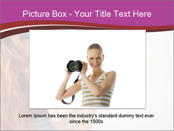 Portrait of Funny girl PowerPoint Templates - Slide 15