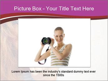 Portrait of Funny girl PowerPoint Template - Slide 15