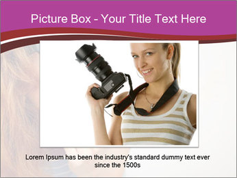 Portrait of Funny girl PowerPoint Templates - Slide 16