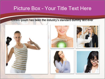 Portrait of Funny girl PowerPoint Templates - Slide 19