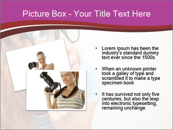 Portrait of Funny girl PowerPoint Templates - Slide 20