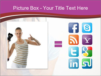 Portrait of Funny girl PowerPoint Templates - Slide 21