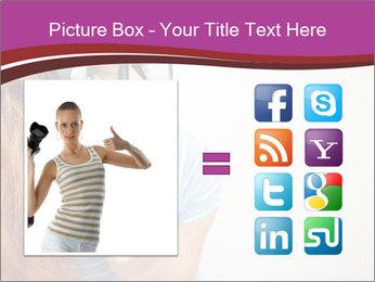 Portrait of Funny girl PowerPoint Template - Slide 21