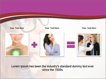 Portrait of Funny girl PowerPoint Templates - Slide 22