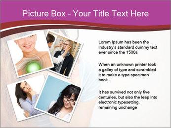 Portrait of Funny girl PowerPoint Template - Slide 23